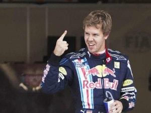 Sebastian Vettel, Red Bull, 2010