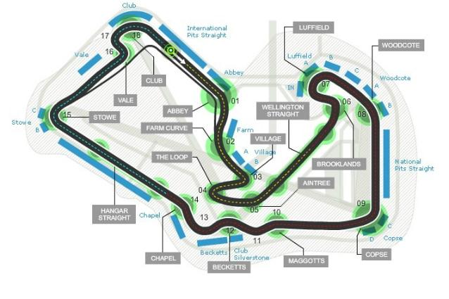 F1, GP Gran Bretagna: