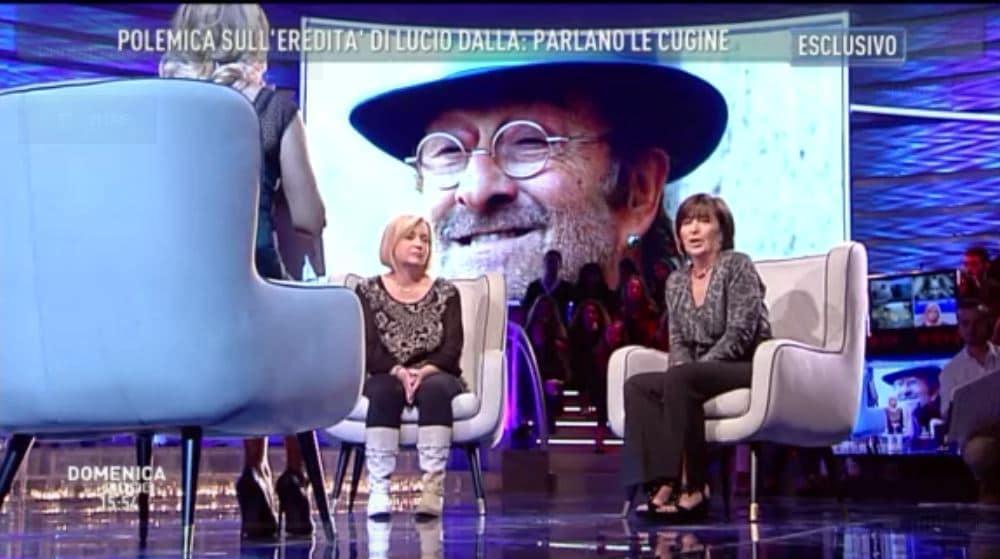 Le cugine di Lucio Dalla a Domenica Live