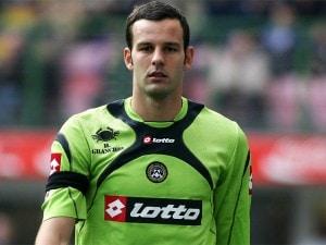 Samir Handanovic, portiere sloveno dell'Udinese