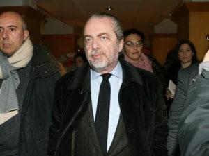 Squalifica Cavani, De Laurentiis attacca Tosel: in Lega mi sentiranno