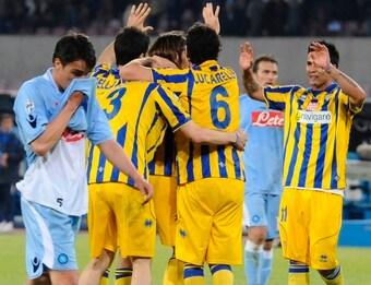 Napoli-Parma è entrata nel filone delle indagini a causa della presenza del figlio di un boss a bordocampo