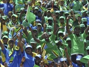 I tifosi della Tanzania