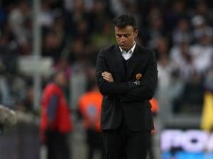 Luis Enrique lascia la Roma