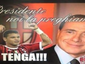 Il messaggio preparato da Milan Channel