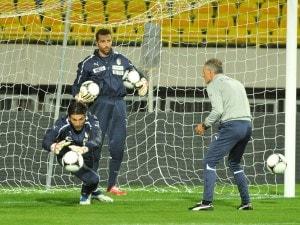 A Milano contro i danesi torneranno titolari Chiellini, Balzaretti, Abate e Balotelli. In dubbio la presenza del portiere della Juventus. Se non c'è la farà giocherà De Sanctis.