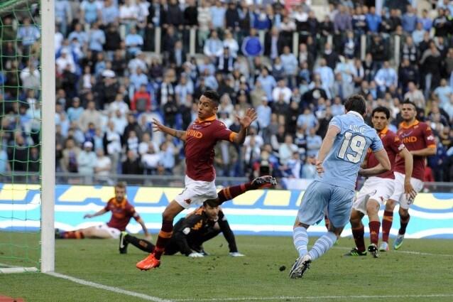 Lulic decise la finale del 2013, nel derby con la Roma.