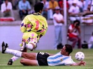 Jorge Campos il portiere attaccante