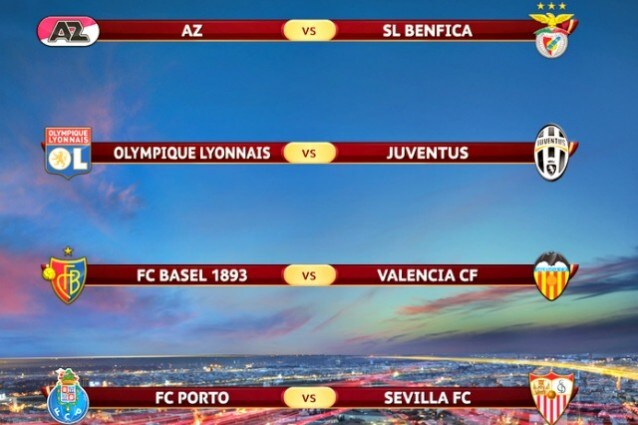Calendario Europa League Ottavi.Sorteggi Europa League 2014 Quarti Di Finale