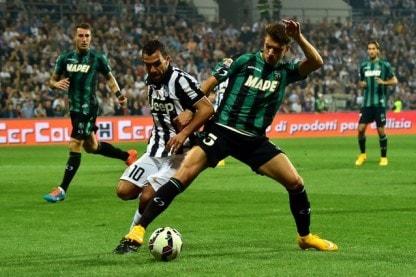 Juve a Catania con Osvaldo accanto a Tevez