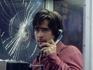 Colin Farrell assediato In linea con l'assassino di Joel Schumacher