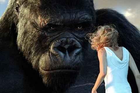 King Kong attrazione in 3d nel parco degli Studios Universal
