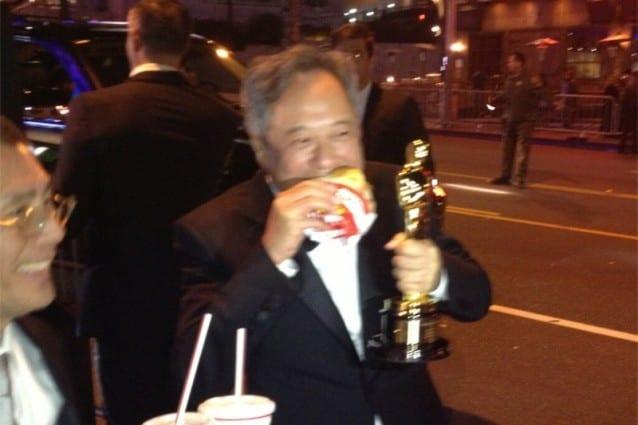 Ang Lee Hamburger Oscar