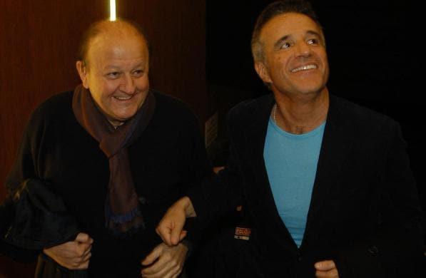 Christian De Sica e Massimo Boldi.