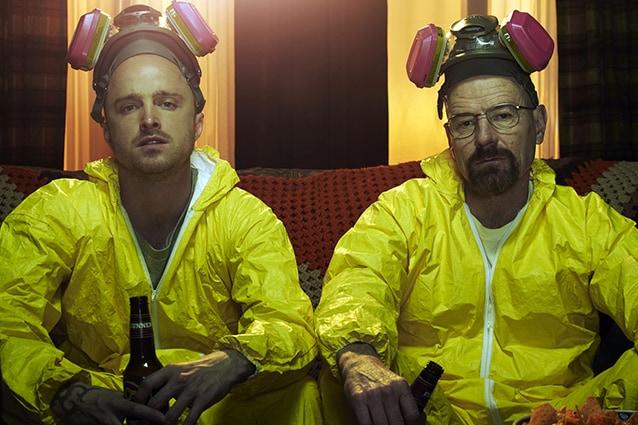 """Breaking Bad"" – Aaron Paul e Bryan Cranston"