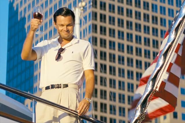 The Wolf of Wall Street – Leo Di Caprio
