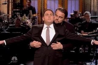 """Leonardo Di Caprio e Jonah Hill rifanno """"Titanic"""" al SNL (VIDEO)"""