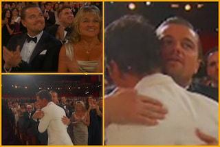 Oscar 2014, la reazione di Di Caprio alla vittoria di McCounaghey (FOTOSEQUENZA)