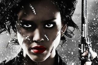 Jessica Alba mostra le cicatrici nel poster di Sin City 3D