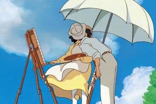 """L'addio di Miyazaki con un film più adulto, """"si alza il vento"""" della passione"""