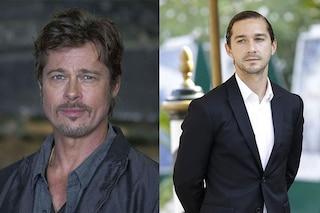 """Brad Pitt incorona Shia LaBeouf: """"È uno dei migliori attori che io abbia mai visto"""""""
