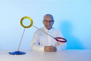 La forma della luce, la lampada portafortuna disegnata da Mendini