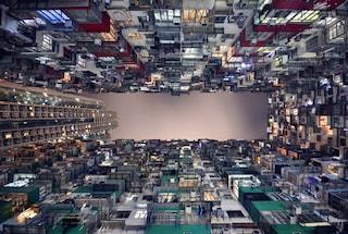 Gli orizzonti possono essere anche verticali ad Hong Kong