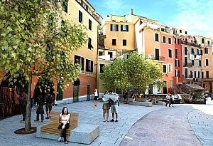 Progetto per la piazza di Vernazza, Renzo Piano–Richard Rogers.