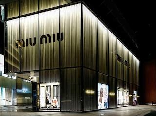 Miu Miu apre un nuovo store a Shanghai
