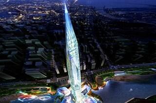 """A Seoul la prima """"torre invisibile"""". La Infinity Tower è un omaggio a Louis Kahn"""