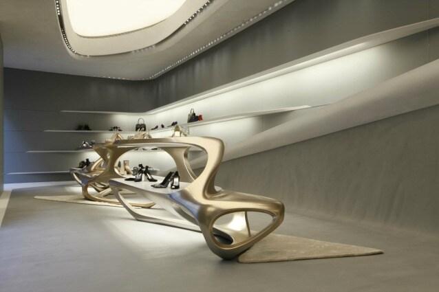 Zaha Hadid per il nuovo store milanese di Stuart Weitzman