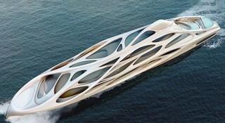 Il Superyacht di Zaha Hadid, un'astronave di 128 metri per attraversare l'oceano (VIDEO)