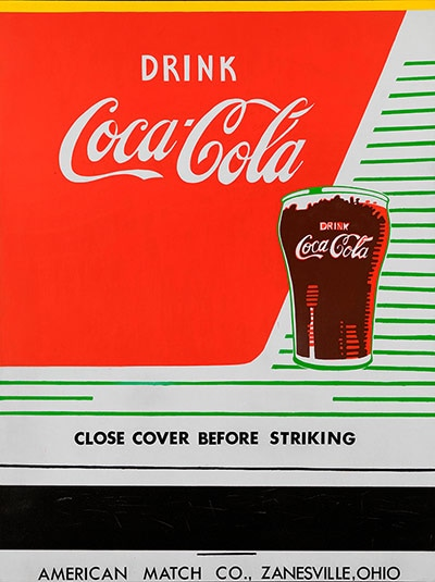 Close Cover Before Striking, 1962. Andy Warhol – Collection Louisiana Museum of Modern Art (Fotografia: The Andy Warhol Foundation / Artists Rights Society, New York / DA, London 2013)