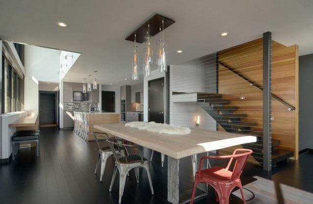 10 elementi a cui una casa contemporanea non pu rinunciare for Case particolari interni