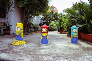 """""""Cattivissimo me"""" per le strade di Singapore: la street art di Ernest Zacharevic"""
