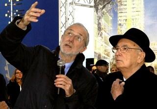 """Renzo Piano da Napolitano: """"Donerò il mio stipendio ai giovani architetti"""""""