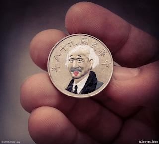 Tales You Lose: ritratti Pop sulle monete di tutto il mondo