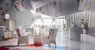 Pracownia: un ristorante di luce e vernice in perfetto stile Pollock