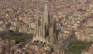 Così sarà la Sagrada Familia finita, nel 2026 (VIDEO)