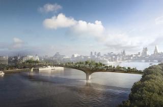 Garden Bridge: il primo ponte-giardino di Londra