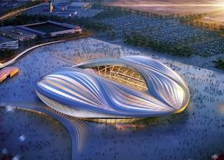 Uno stadio a forma di vagina firmato Zaha Hadid: l'Al Wakrah Stadium (VIDEO)