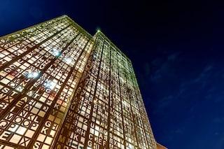 Gooyesh Language Institute: un edificio cruciverba enorme e sorprendentemente unico
