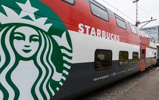 Starbucks arriva sui treni svizzeri: i viaggi d'ora in poi, oltre che precisi, saranno più gustosi (VIDEO)
