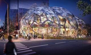 Amazon realizza il suo nuovo quartier generale a Seattle: una biodome firmata NBBJ