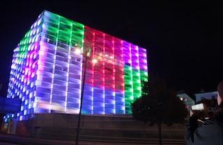 Puzzle Facade: il più grande Cubo di Rubik interattivo al mondo