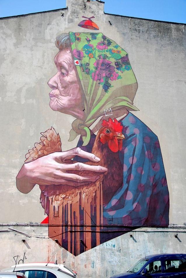 Madamme Chicken–Lodz, Poland, 2013