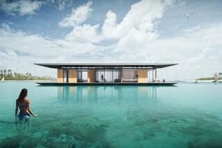 La Floating House: una casa galleggiante per un perfetto rifugio d'amore