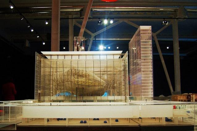 Il progetto del Centro Congressi dell'Eur. Studio Fuksas