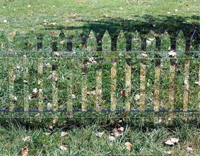 Mirror Fence – Alyson Shotz