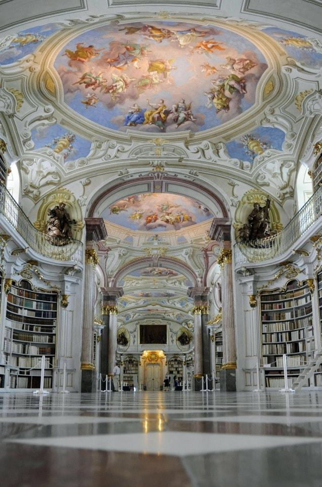 Admont Abbey Library, Austria. Photo SAMUEL KUBANI/AFP/Getty Images